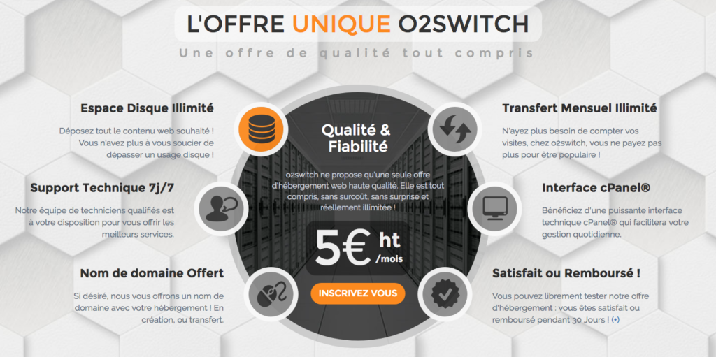 avis o2switch